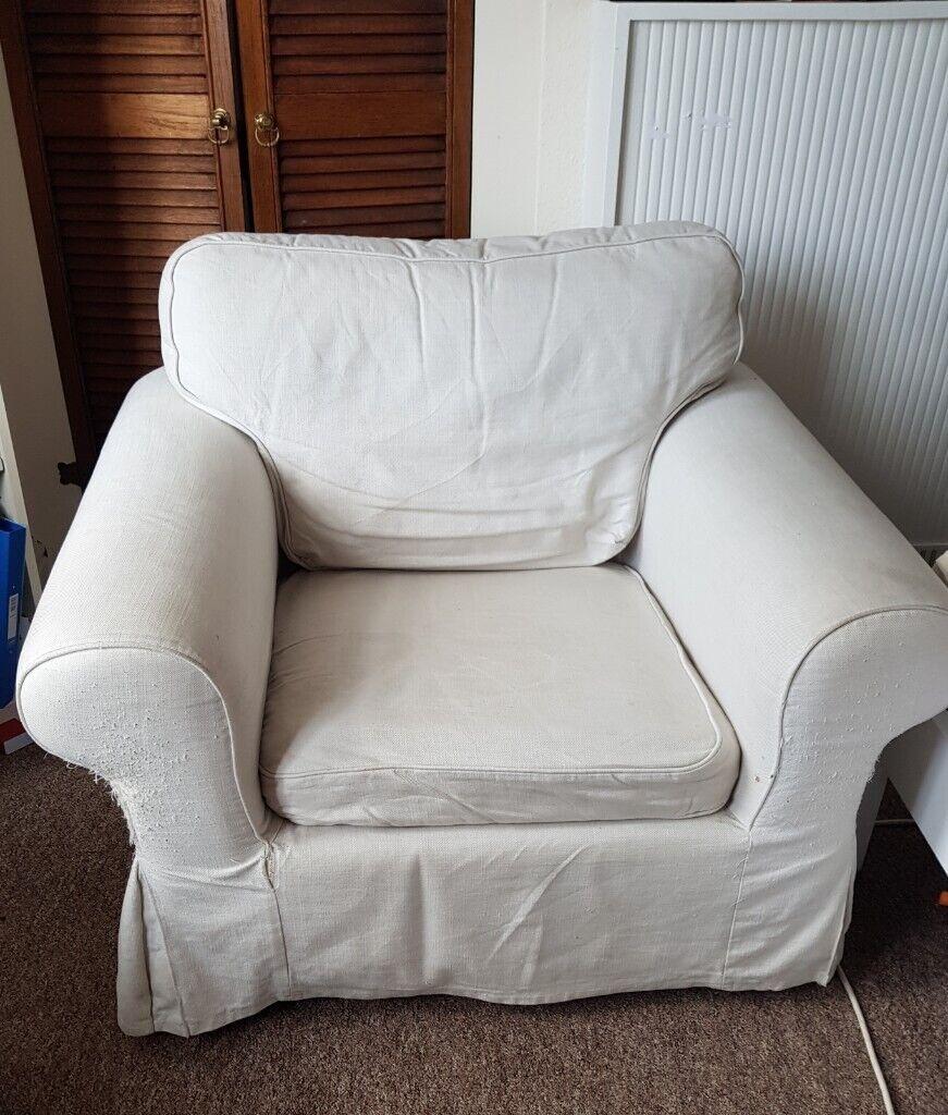Cream Off White 1 Seat Ikea Armchair In Bishopston Bristol Gumtree