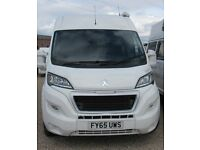 PEUGEOT VOYAGEANT MOTOR HOME 2016 Brand new conversion, 2 Berth with shower and toilet.