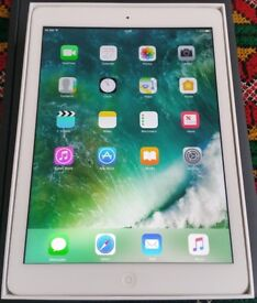 ipad Air, 16GB, wifi and 4G Sim, Unlocked, Boxed, Mint Condition