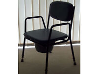 Commode Chair - Patterson Medical Ltd, Model 521A