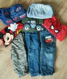 Boys jumpers, jeans & trousers age 2-3 years