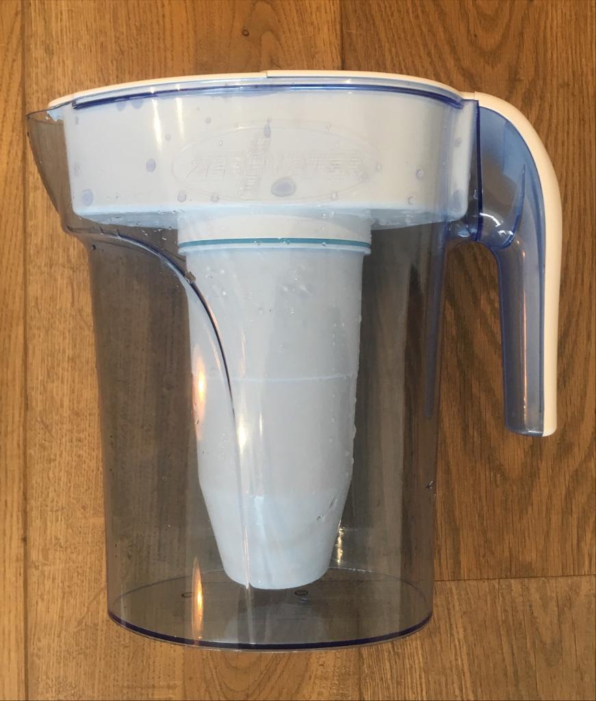c15325b6f49 ZeroWater 7 Cup ZP-007RP 1.7 Litre Blue Water Filter Jug (with extra filter)