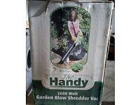 New Garden Leaf Blower Shredder Vac