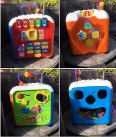 Baby Toddler Activity Cube