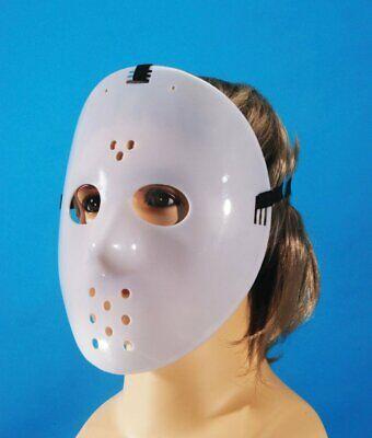 Killer Glow in the Dark HOCKEY MASK Scary Halloween Costume Mask](Killer In Halloween)