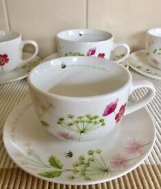 Bgs Green Oak Leaf Tea Coffee Sugar Canister In Morley