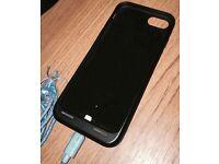 Apple iPhone 7 - Black Smart Battery Case - Warranty Sept '17