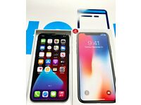Apple iPhone X 64Gb unlocked to all networks - Space Grey Boxed