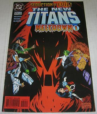 NEW TITANS #129 (DC Comics 1996) MELTDOWN (VF-) 2nd to last issue