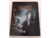 The Hobbit blu ray steelbook DVD
