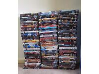 133 DVD's for sale (collection only)