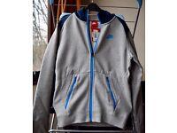 Nike HYBRID FZ HOODY Grey/Blue Size S