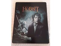 The Hobbit An Unexpected Journey Steelbook Blu Ray DVD - excellent condition