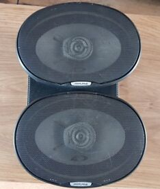 CAR SPEAKERS ALPINE E TYPE 6 X 9 COAXIAL 2-WAY