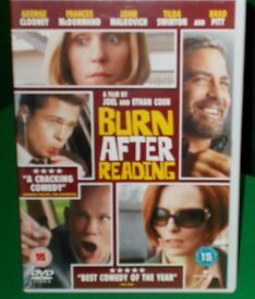 BURN AFTER READING DVD - COMEDY WITH GEORGE CLOONEY & BRAD PITT - 15
