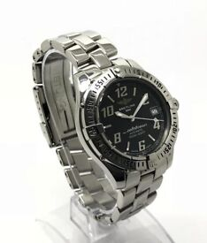 BREITLING COLTOCEAN A17050 AUTOMATIC BLACK DIAL 38MM GENTS WATCH