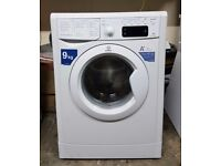 FREE DELIVERY, WARRANTY Large 9KG, A+ energy rated Indesit washing machine