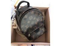 Genuine Louis Vuitton palm spring backpack bag