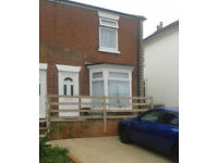 3 bedroom semi detached house for rent with private rear garden, patio and off road parking.