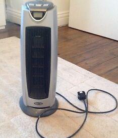 Prem-I-air oscillating electric fan heater.