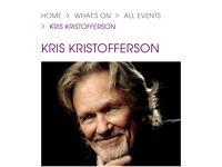 2 Kris Kristofferson tickets