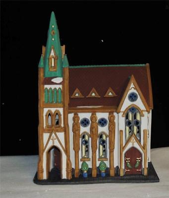 Dept 56 ALL SAINTS CORNER CHURCH Christmas in the City RETIRED-MIB