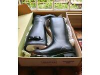 Brand New Men's Hunter Wellies Original Tall Boot in Black |UK Size 10|