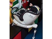 Britax Dualfix Group 0 /1 Car Seat - Zebra