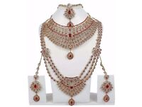 Bollywood Fashion Indian Great Bridal Necklace Set Traditional Partywear Jewellery