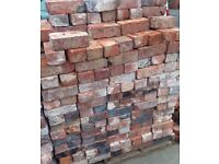 Wanted old bricks reclaimed Red / Pink in colour to rebuild part of an old building.