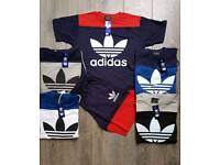 (JIMMY) WHOLESALE SUMMER COLLECTION!! POLOS T SHIRT & SHORT SETS!!