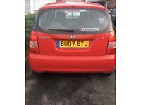 KIA Picanto 2007 -Good Condition Perfect 1st car 1L £1400 Offers Welcome!