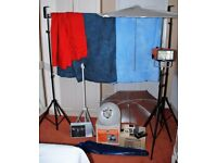 Photography Studio Set Up - Complete - Everything You Need To Start Your Own Business