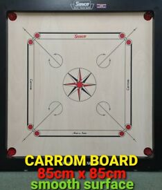 NEW BRANDED SMOOTH SURFACE SURCO CAROM BOARD 85CM X 85CM