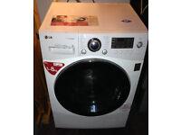 Washing Machine LG 8kg Steam 6 Motion DD F1480TDS White