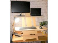 Heskie Standing Desk - Mightie Double