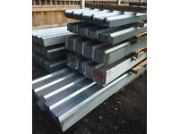 👷🏻 2.4M Galvanised Box Profile Roof Sheets ~ New