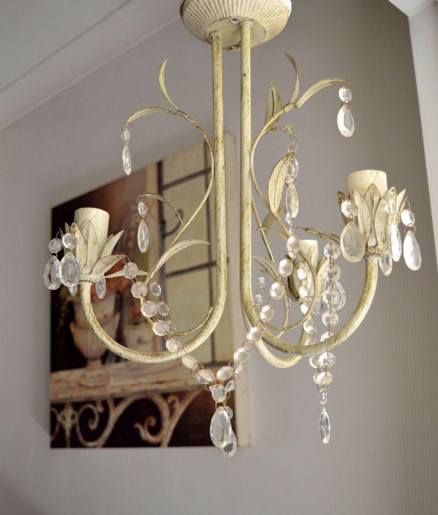 Modern Interior Design Cream Shabby Chic Ceiling Lights