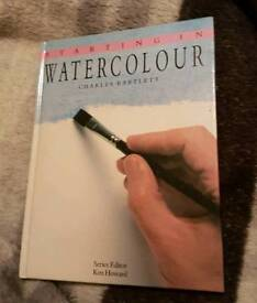Starting In Watercolour book