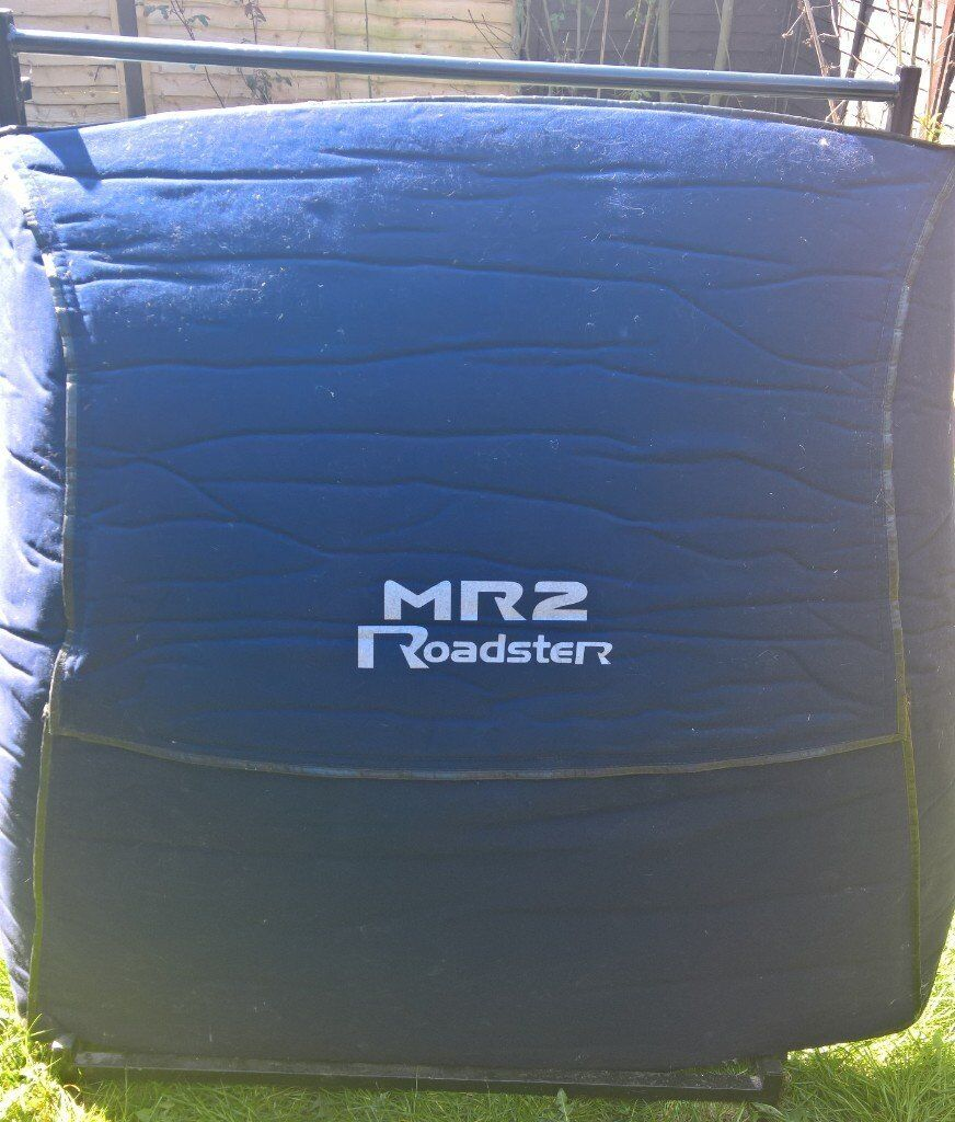 For Sale: Toyota MR2 Hard Top Cover with its own original cover and stand with wheels .