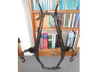 Vintage Horse Collar Harness - Hames - Interesting Decorative Item - Shop or Pub Display