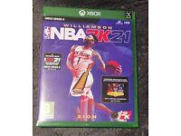NBA 2K21 XBOX Series X Next Gen Version