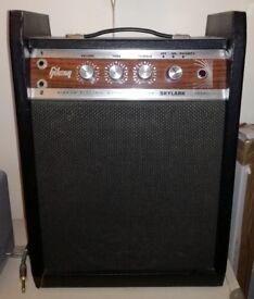 1967 Gibson Skylark amp. Like Fender Champ
