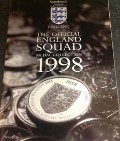 1998 England World Cup Commerative Coins