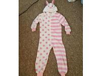 Girls Next Rabbit Onesie - 6-7