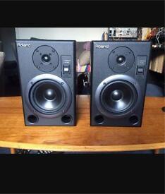 Roland ds5 active studio monitors sale/swap