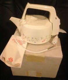 Brand New Swan Kettle, needs a plug put on