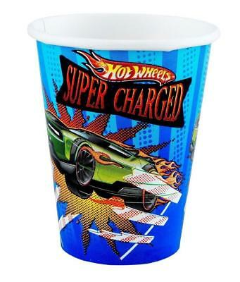 Hot Wheels Speed City Party Supplies-9oz Paper Cups- 8ct. (City Supplies)