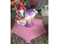 Fisher price bouncing pony