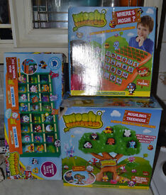 Moshi Monsters Bundle. Treehouse, Guess Who & Zoo.